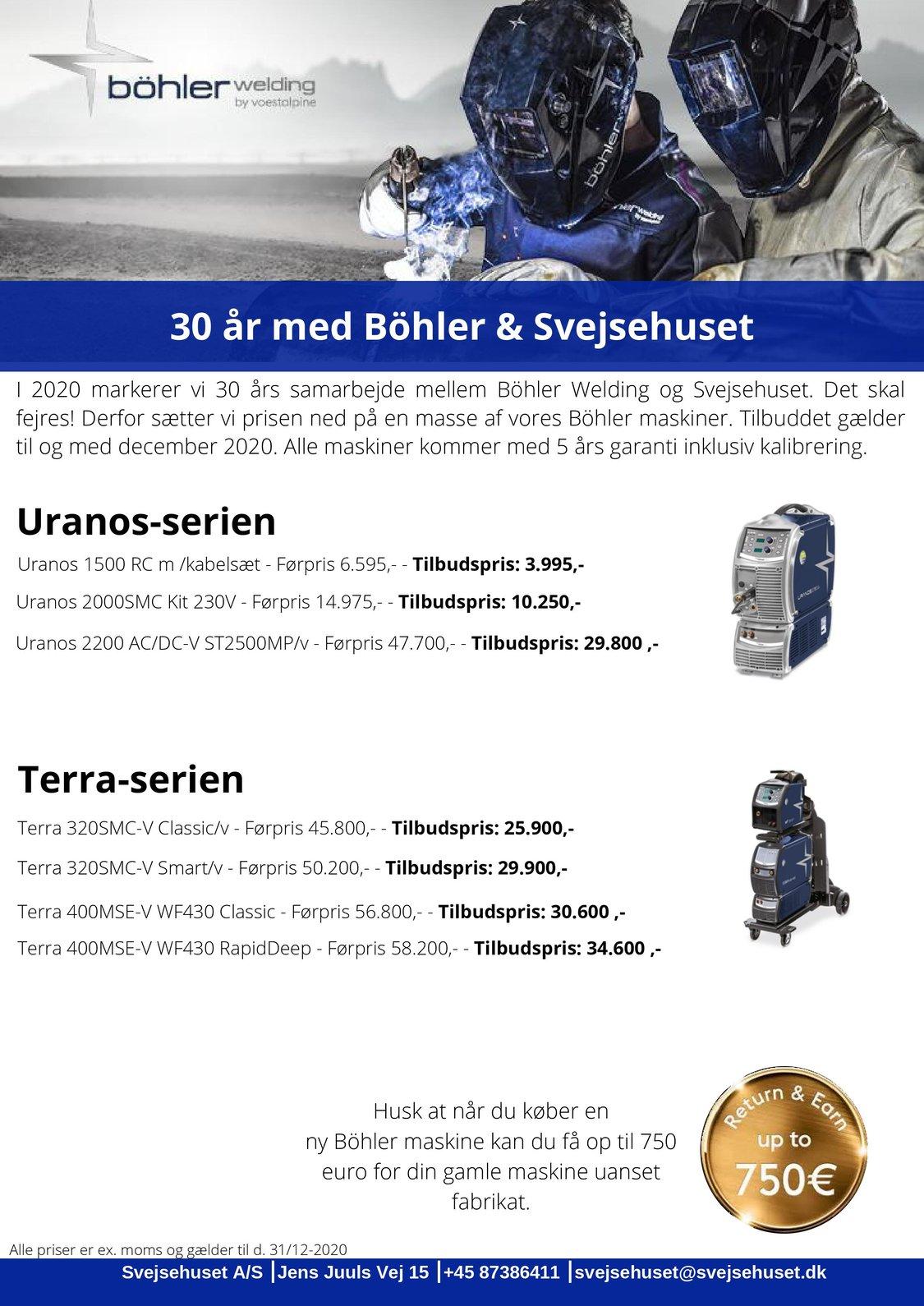 30 år med Böhler & Svejsehuset