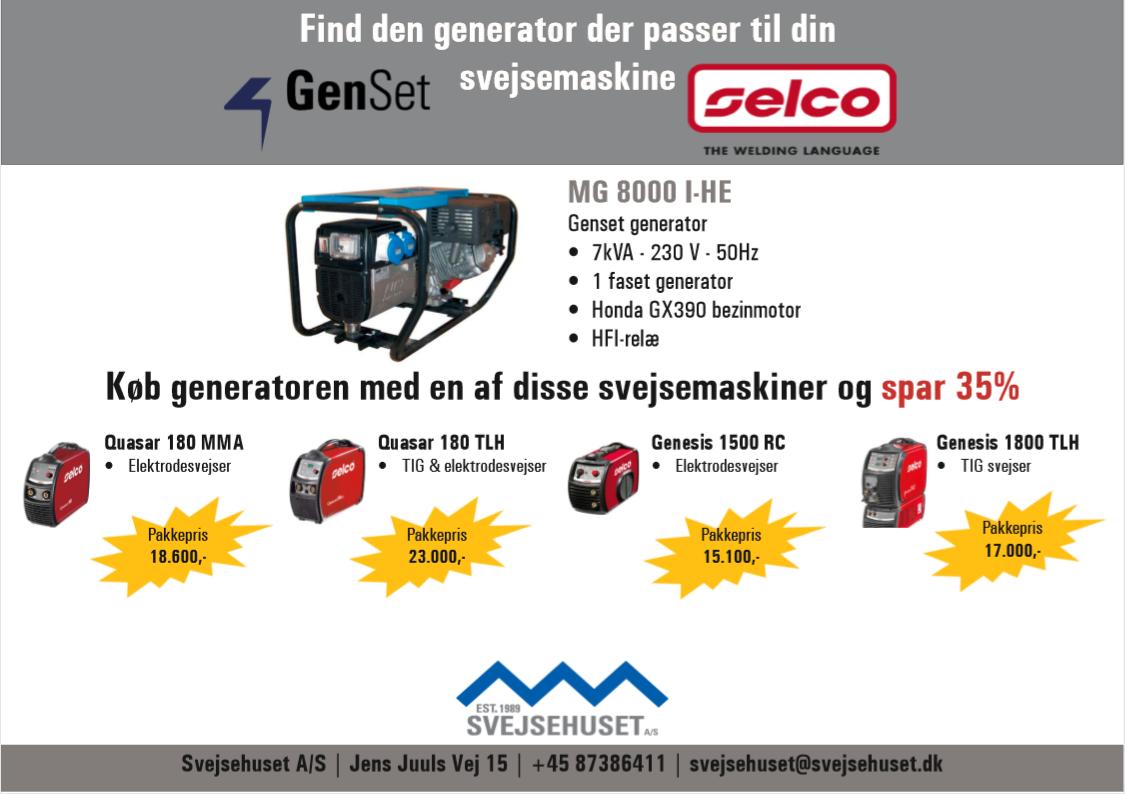 Selco-Genset kampagne s. 1