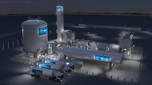 Linde luftgasfabrik